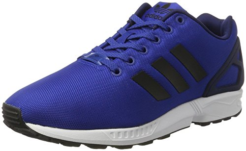 adidas ZX Flux, Scarpe da Corsa Uomo Blu (Collegiate Royal/Core Black/Ftwr White)