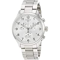 Tissot Men's Chronograph Stainless Steel Silver Dial Chrono XL Watch T1166171103700