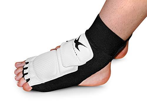 whistlekick Premium Taekwondo Socks Foot Protectors WTF WT Olympic Boots with Warranty - - Taekwondo Wtf