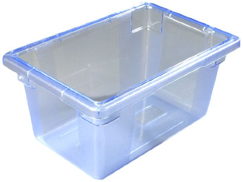 """Carlisle  - 12"""""""" x 18"""""""" x 9"""""""" Color-Coded Food Boxes-Blue"""