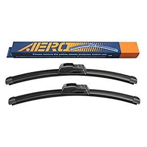 "AERO 26"" + 16"" OEM Quality All Season Beam Windshield Wiper Blades (Set of 2)"