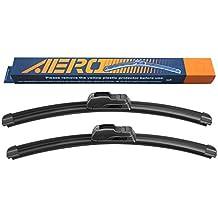 "OEM QUALITY 20"" + 20"" AERO Premium All-Season Windshield Wiper Blades (Set of 2)"