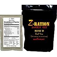 MRE Z-Ration (Zombie MRE) Custom Meals Ready to Eat! (MENU D - Beef Stew)
