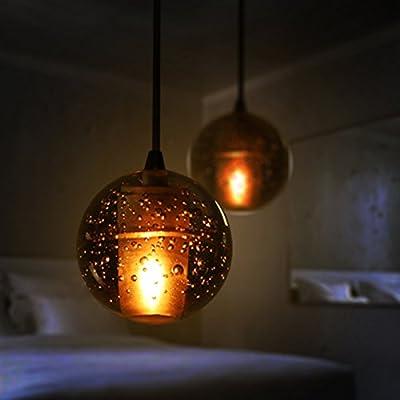 TYDXSD La bola de color creativos candelabro en la burbuja ...