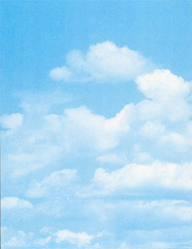 Geographics Clouds Letterhead, 8.5x11, FSC Mix, 25/pack -