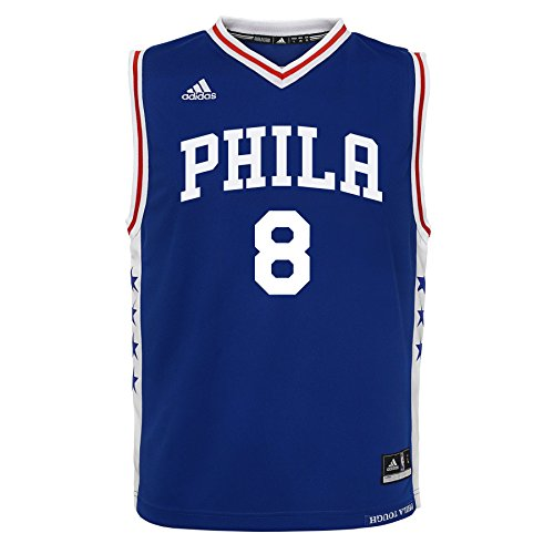 OuterStuff NBA Boys 4-7 Philadelphia 76ers Okafor Away Replica (76ers Youth Jersey)
