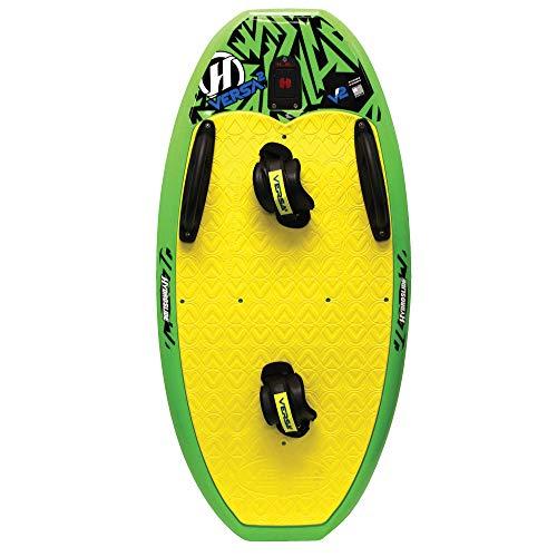 O'Brien Versa 2 Green, Handles & Footstraps - Wakeboard, Ski, Kneeboard