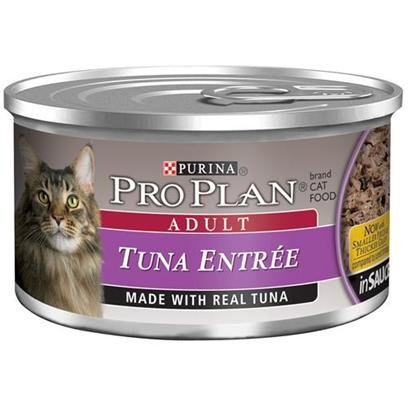 Nestle Purina Petcare Pro Plan Canned Tuna Entree for Cats Pro Plan Tuna Entree 24 3Oz Cans Canned Food by Pro Plan