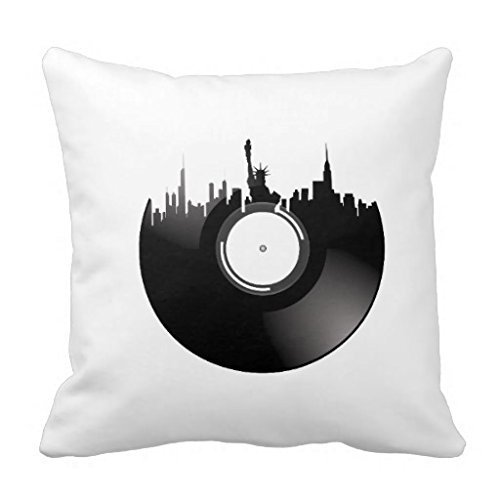 New York City Travel Graphic Png 18*18 pillow Case: Amazon ...