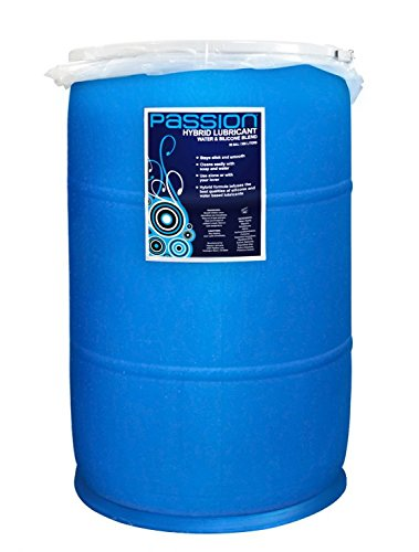 Passion Lubes Passion Water and Silicone Blend Hybrid Lubricant, 55 Gallon
