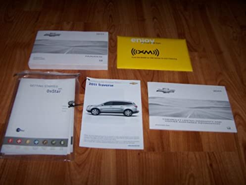 2011 chevrolet traverse owners manual chevrolet amazon com books rh amazon com 2011 chevy traverse repair manual 2011 chevy traverse repair manual
