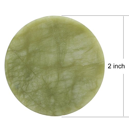 TDANCE Jade Stone Glue Pallet Holder For Eyelash Extension 2 Inch (Jade Stone Ltd)