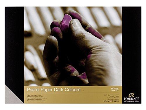 REMBRANDT PASTEL PAPER - Dark A4 FSC-MIX Royal Talens