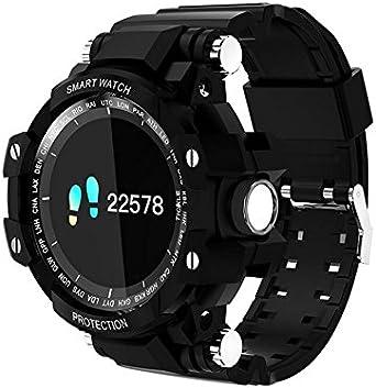 GW68 SmartWatch Pantalla táctil a Color Circular Bluetooth Reloj ...