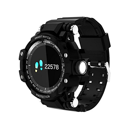 GW68 SmartWatch Pantalla táctil a Color Circular Bluetooth ...