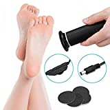 Selling Electric Pedicure, Electric Callus Remover, Exfoliating Foot Scrub Knife Bottom Grinding Artifact, Professional Tool (speed Adjustable) Replacement Sand Disc,Black