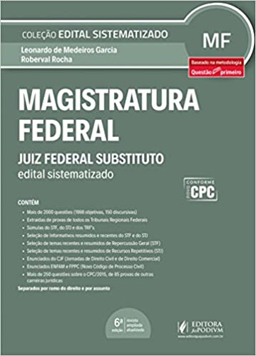 Book Magistratura federal: Juiz federal substituto