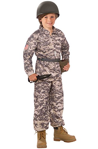 Child Army Uniform (Forum Novelties Desert Soldier Child Costume,)
