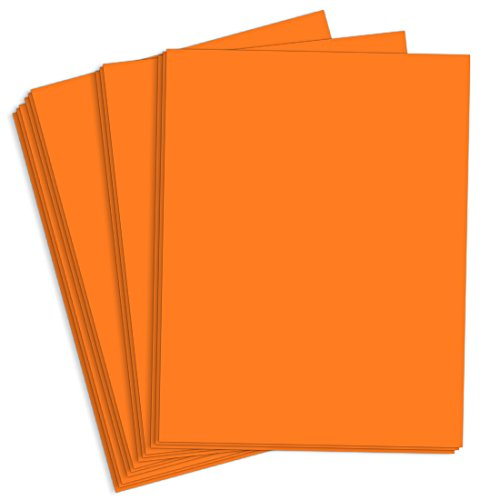 Astrobright Cosmic Orange Paper - 8 1/2 x 11, 60lb Text, 5000 Pack