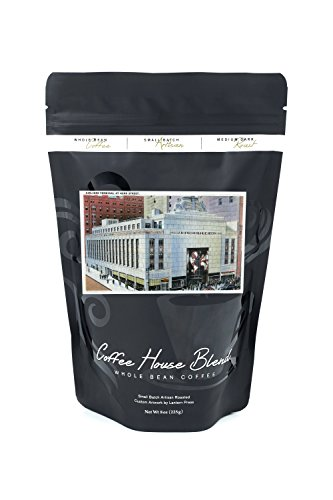 NYC, New York - 42nd Street View of Airlines Terminal (8oz Whole Bean Small Batch Artisan Coffee - Bold & Strong Medium Dark Roast w/ - 42nd Park And