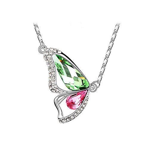 the-starry-night-18k-silver-plated-butterfly-diamond-accented-color-crystal-pendant-necklace