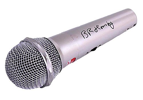 Bruce Hornsby Autographed Signed Microphone & UACC RD Proof AFTAL