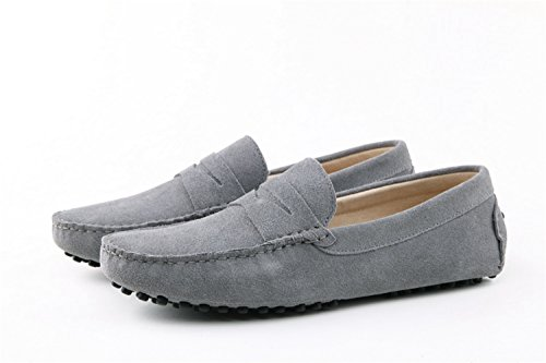 Minitoo , Sandales Compensées homme - Gris - Grigio (grigio), 40 EU
