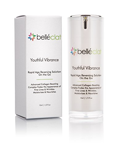 Anti-Aging Collagen Moisturizer, Rapid Age Reversing, Belléclat Youthful Vibrance Wrinkles Solution On the Go - Anti Aging Skin Care