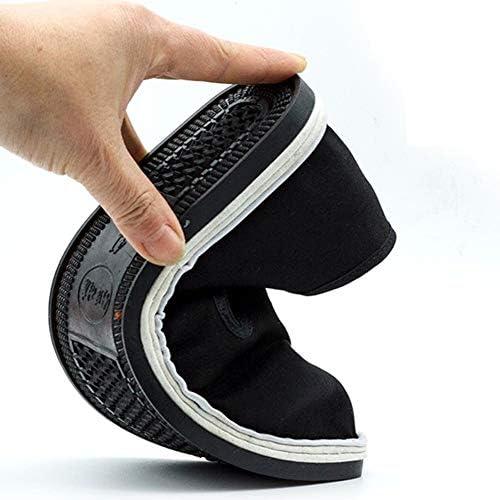ブルース・リー中国のカンフーシューズウィングチョン太極拳武道空手通気性靴ユニセックスブラックコットンシューズblack-38