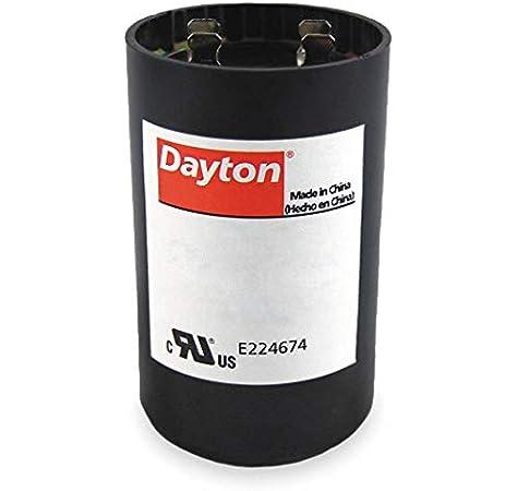 Dayton 6FLL0 Motor Start Capacitor 430-516 MFD Round