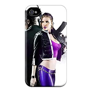 Awesome Design Saints Row 3 Hard Cases Covers For Iphone 4/4s