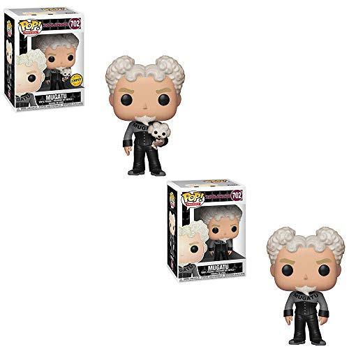 Funko POP! Movies Zoolander: Mugatu Limited Edition Chase and Mugatu Non Chase Toy Action Figure - 2 POP Bundle