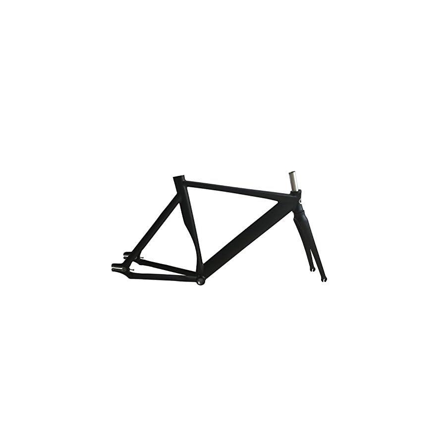 700C bike frame 53cm Track Bike frame Smooth Welding Fixed Gear Bike Frame fixie frame+Seatpost+Clamp