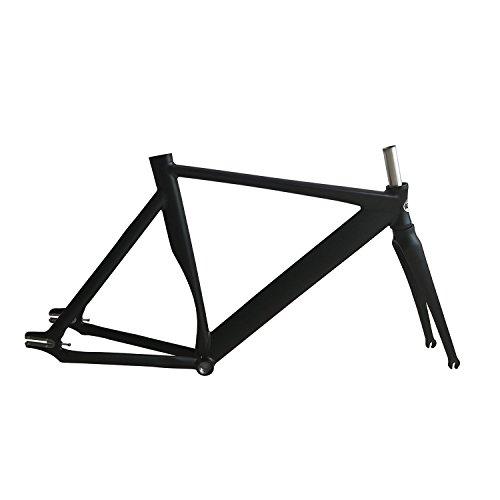 700C bike frame 53cm Track Bike frame Smooth Welding Fixed Gear Bike ...