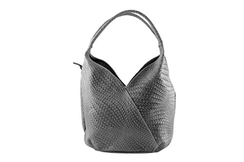 Chloly - Tote Bag Dark Gray For Woman