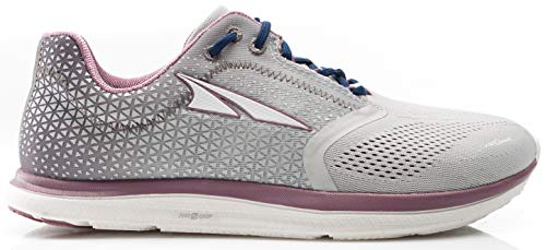 ALTRA Women's AFW1836P Solstice Road Running Shoe, Gray/Plum - 10 M US