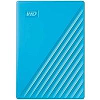 Western Digital My Passport USB3.0 External Hard Drive, 4 TB, WDBPKJ0040BBL-WESN,Blue