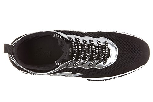 Hogan Damenschuhe Turnschuhe Damen Wildleder Schuhe Sneakers interactive lycra h QBcfx