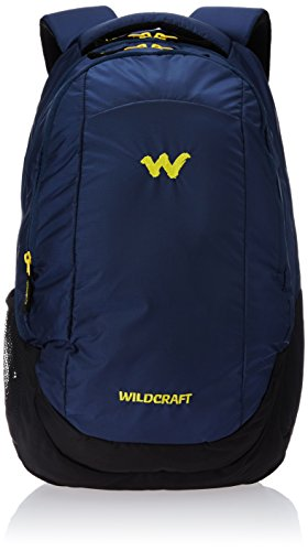 Wildcraft Turnaround Polyester 27 Ltrs Blue Laptop Bag
