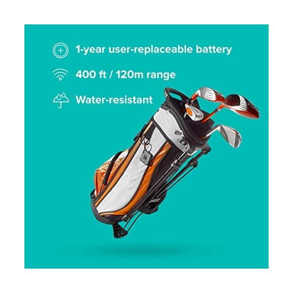 1 year replaceable battery 2020 Black /& Mate 2020 1 Pack White Bluetooth Item Finder Bluetooth Item Finder 1 Pack works with Alexa and Google Home Tile Pro 60m finding range