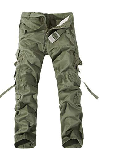 infortunistici Lavoro Da Grün1 Cotone Primavera Esterno Militari Autunnali In Completo Uomo Pantaloni Lunghi Cargo Anti iTOXPZku