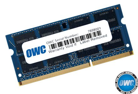 OWC 8GB (1 x 8GB) 1867 MHZ DDR3 SO-DIMM PC3-14900 204 Pin CL11 Memory Upgrade by OWC
