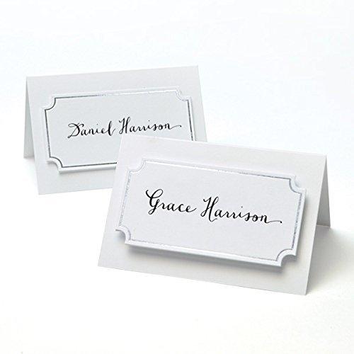 (Gartner Studios 12614 Silver Foil Place Cards (Pack of 50))
