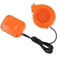 Mini Fan Blower - TOOGOO(R) Mini Fan Blower for Mascot Head Inflatable Costume 6V Powered by Dry Battery
