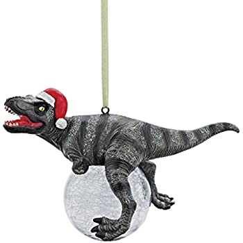 Design Toscano Blitzer The T-Rex Holiday Ornament
