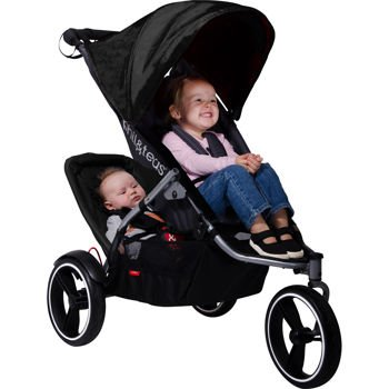Amazon.com : Phil&ted's® S4 Inline Stroller Bundle with Second ...