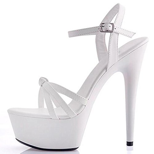 Talons Sandales Talons pour Femmes Banquet Imperméable Plate Hauts Forme E Sandales Professionnel Fond LLP Modèle Chaussures épais Hauts H7wvBdwq