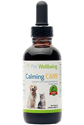 Pet Wellbeing - Calming Care for Dogs - Natural support for Anxiety and Stress in Dogs - 2oz (59ml) by Pet Wellbeing