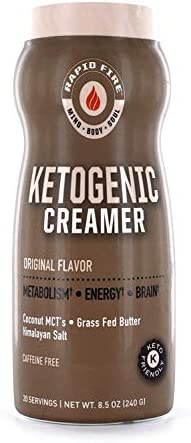 Ketogenic Creamer Coffee servings packaging