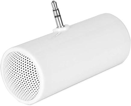 MSWP Altavoz estéreo portátil de la Caja de Sonidos del Altavoz del Enchufe de AUX del Enchufe de 3.5mm Mini para los Altavoces móviles Elegantes del teléfono Celular para el teléfono: Amazon.es: